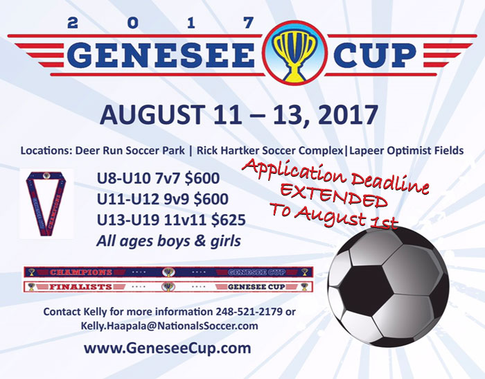 Apply Now to the 2017 Genesee Cup